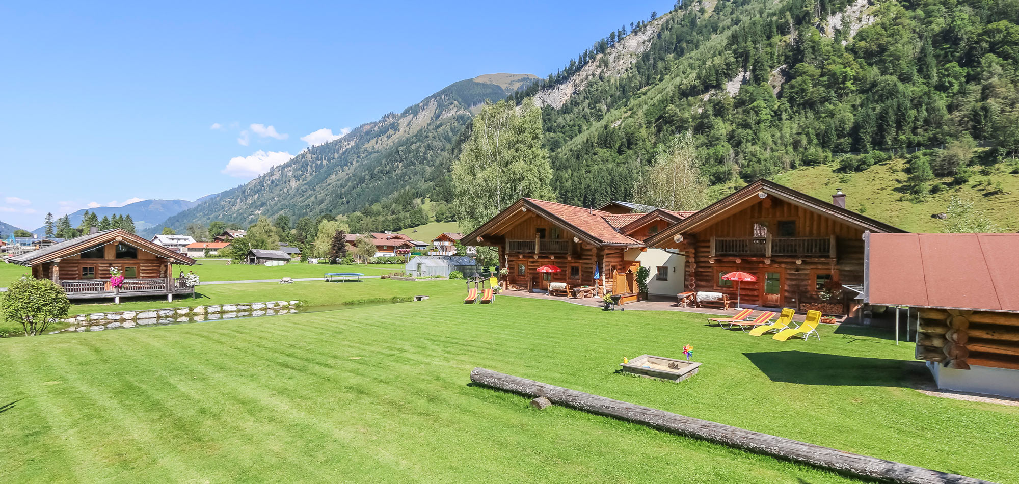 Alpine Chalets in Fusch